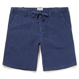 Hartford - Slim-Fit Linen Shorts