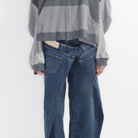 ANREALAGE - 2010-11 A/W 「wideshortslimlong」