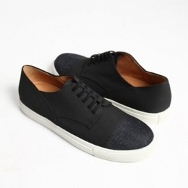 DRIES VAN NOTEN - Denim Sneaker Sole Shoes