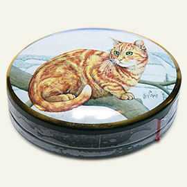Ginger Cat Companions - natural peppermint mints in a cat tin box.