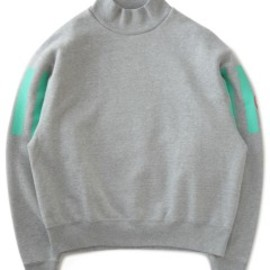 C.E - Mock Turtle Neck Sweat (grey)