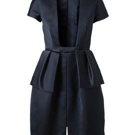 Carven - Structured Satin Dress