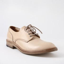 BUTTERO - Round Toe Derby Shoes Sand.
