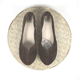 elehandmade - Dark Chocolate Leather Handmade Soft Oxfords