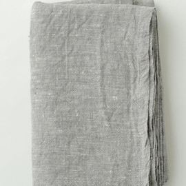fog linen work - LINEN CHAMBRAY TOWELKET GREY