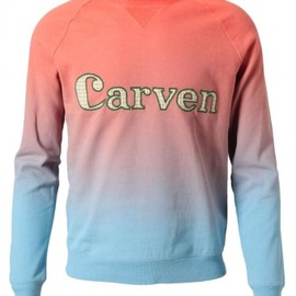 Carven - 2013/SPRING■CARVEN■COTTON LOGO SWEATSHIRT