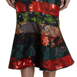 GIVENCHY - Tiered Tulip Skirt