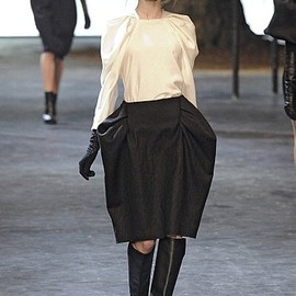 Lanvin - white & black
