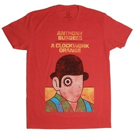 Out Of Print. - A Clockwork Orange book cover t-shirt