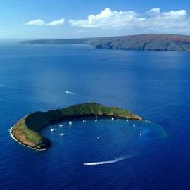 Hawaii - Molokini Crater in Maui