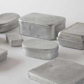 'naked shapes'  storage containers