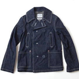 STUDIO D'ARTISAN - Denim Pea-coat