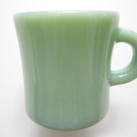 Anchor Hocking Fireking Jade-ite - Extra Heavy Mug
