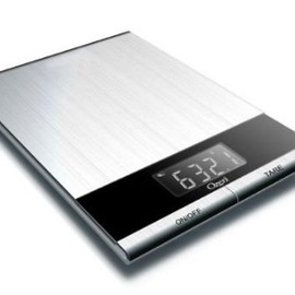 ozeri - Ultra Thin Professional Digital Kitchen Food Scale, in Elegant Stainless Steel