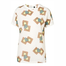 TOPSHOP - Square Aztec Print Tee by J.W. Anderson for Topshop