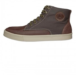 FRED PERRY - Upchurch Leather Waxed Canvas Boot