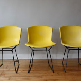 Knoll - Harry Bertoia Plastic Side Chairs