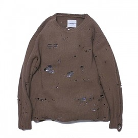 TAKAHIROMIYASHITA The SoloIst - grunge crew neck sweater.