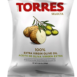 Torres - Selecta Potato Chips 100% Extra Virgin Olive Oil