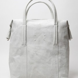 MAISON MARTIN MARGIELA - MAISON MARTIN MARGIELA 11 PAINT EFFECT HOLD ALL SATCHEL