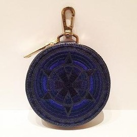 blackmeans - Limited Embroidery Circle Pouch(GENESIS 7th Anniversary Limited Item)