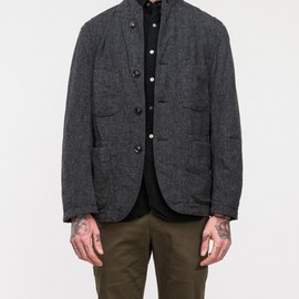 Engineered Garments - Grey Herringbone Bedford Jacket