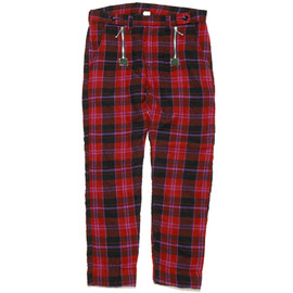 NADA. - Wool Check Pants
