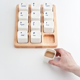 E Square - Keyboard Coffee Cups