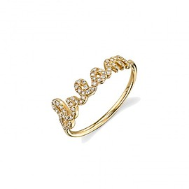 Sydney Evan - Yellow-Gold & Diamond Dream Ring