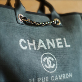 CHANEL - Canvas Large Shopping Bag