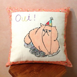 "maegamimami - cushion "" oui ! """