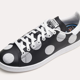 Pharrell Williams, adidas - Pharrell x adidas Originals Stan Smith 'Big Polka Dots' Black/White