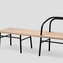 Established & Sons - Table, Bench, Chair