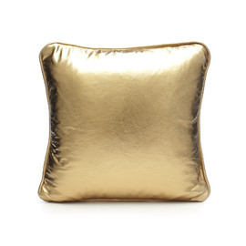 SCENERY - LEATHER PILLOW - GOLD