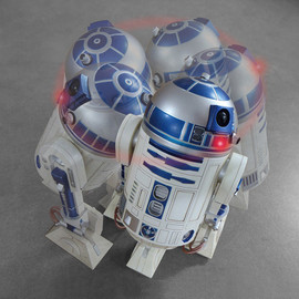 STAR WARS - R2-D2 ACTION ALARM CLOCK