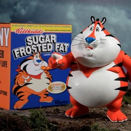 Ron English - Fat Tony Figure