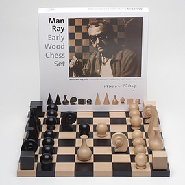 National Galleries Scotland - Man Ray Chess Set and Board