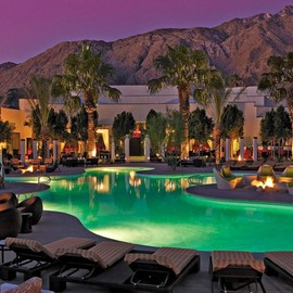 Hotel Riviera - Palm Springs (Franck Sinatra's favorite hotel & restaurant in Palm Springs)