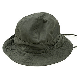 ENGINEERED GARMENTS - Explorer Hat-Cotton Ripstop-Olive
