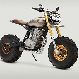 HONDA, XR650L - BM650 by Classified Moto