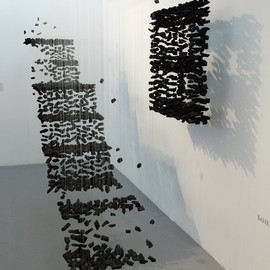 An installation in the Shanghai Contemporary Art Fair