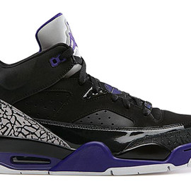 Nike - NIKE JORDAN SON OF LOW BLACK/GRAPE ICE-WHITE