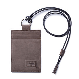 "HEAD PORTER - ""ORCIA"" PASS CASE BROWN"