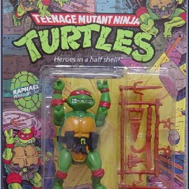 Playmates™ - Teenage Mutant Ninja Turtles (1988) Raphael Action Figure by Playmates