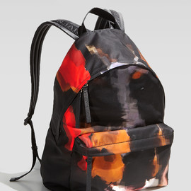 GIVENCHY - Doberman-Print Canvas-Backpack