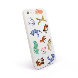 MAISON KITSUNÉ - iPhone Case Foxes