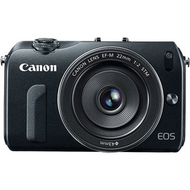 Canon - Canon EOS-M Mirrorless Digital Camera with EF-M 22mm f/2 STM Lens