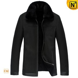 CWMALLS - Black Sheepskin Jackets uk CW833359 - cwmalls.com