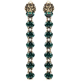 GUCCI - SS2016 Embellished clip-on earrings