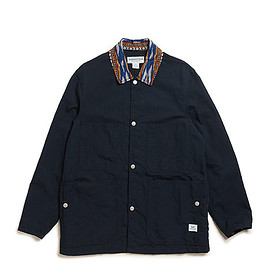 SASSAFRAS - Green Thumb Jacket-C/N Oxford-Navy
